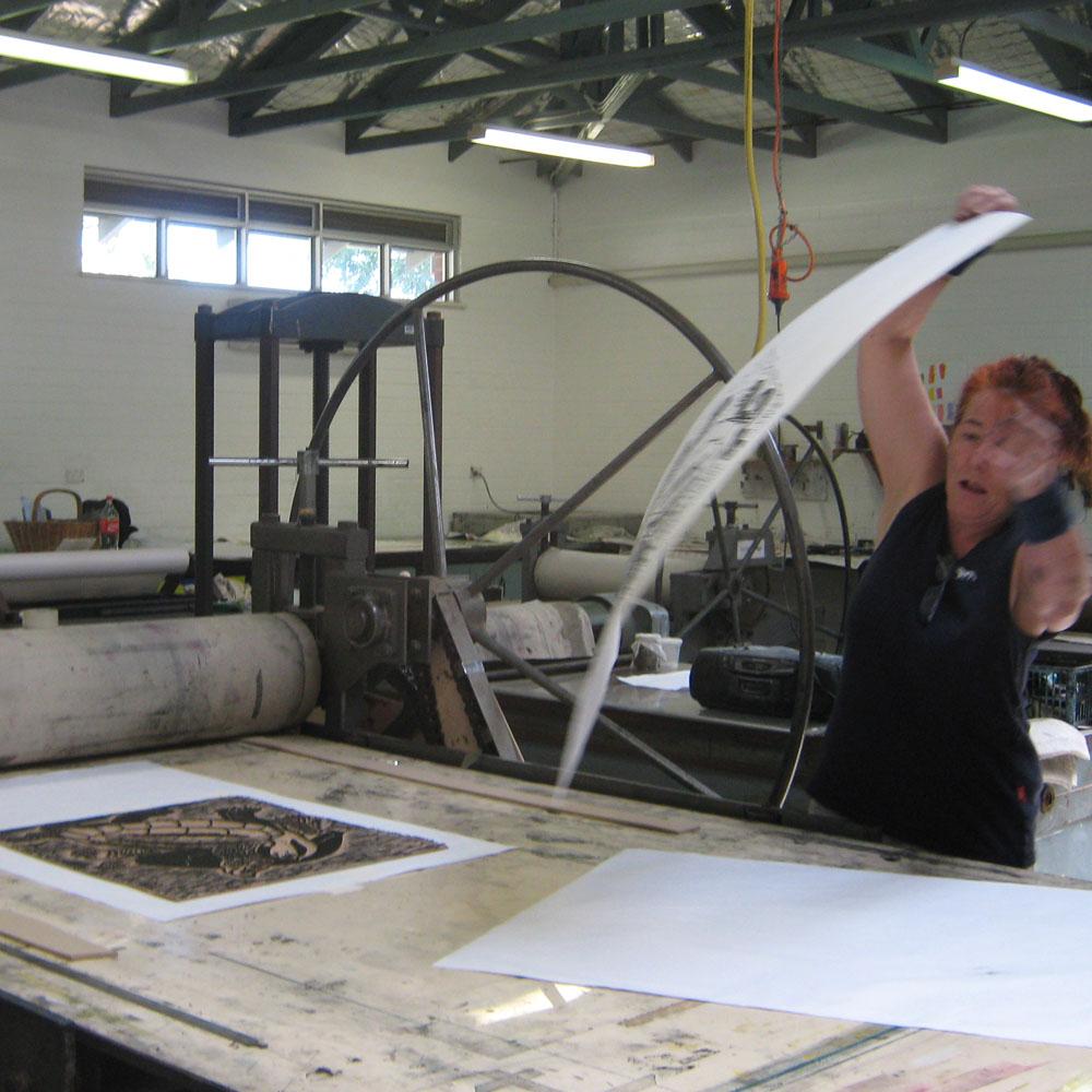 At The Printing Press